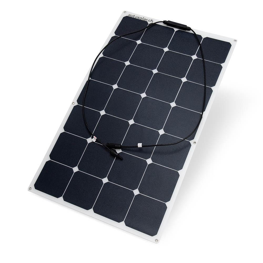 flexibles Solarpanal 100 Watt Monokristallin