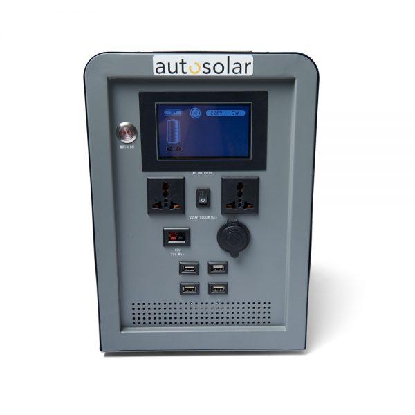 Solargenerator 100 Ah