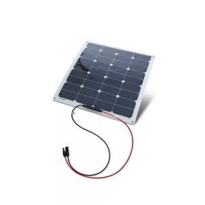 50 Watt flexibles monokristallines Solarpanel - Erhaltungsladung