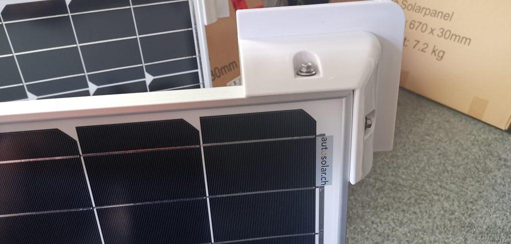 Solarmodulecken Autosolar