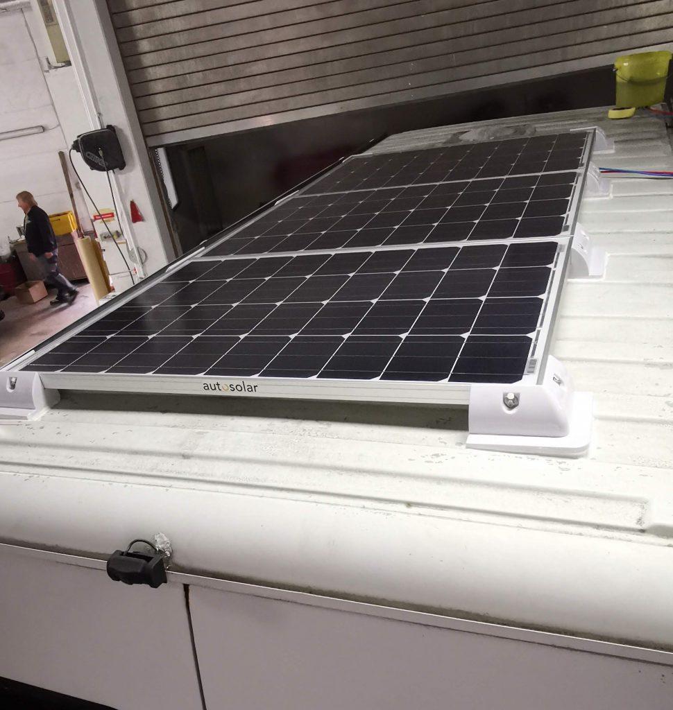 Ducato Camper 300 Watt Solar