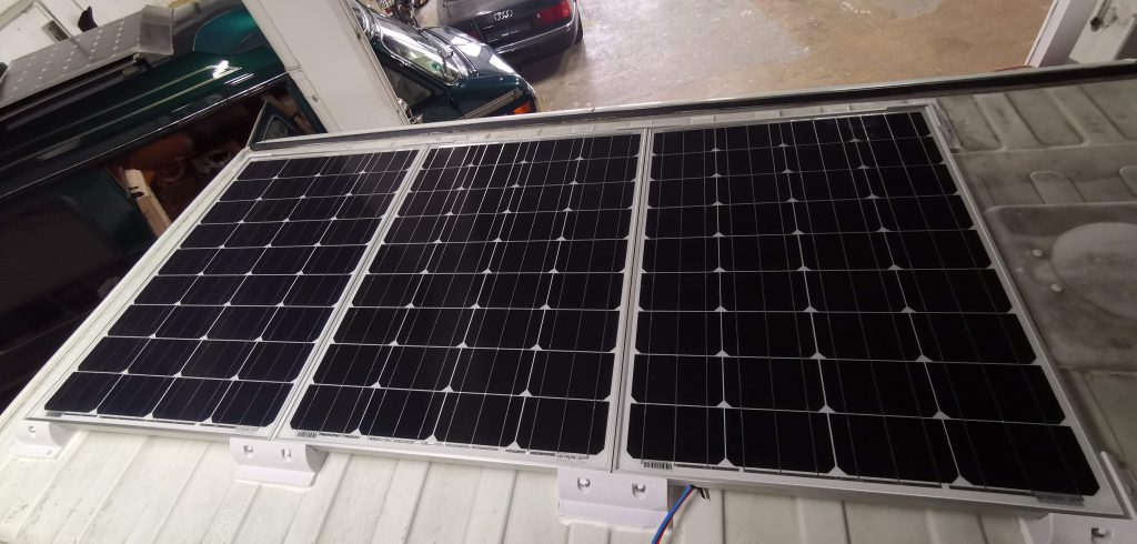 Ducato Camper Dach mit Solar