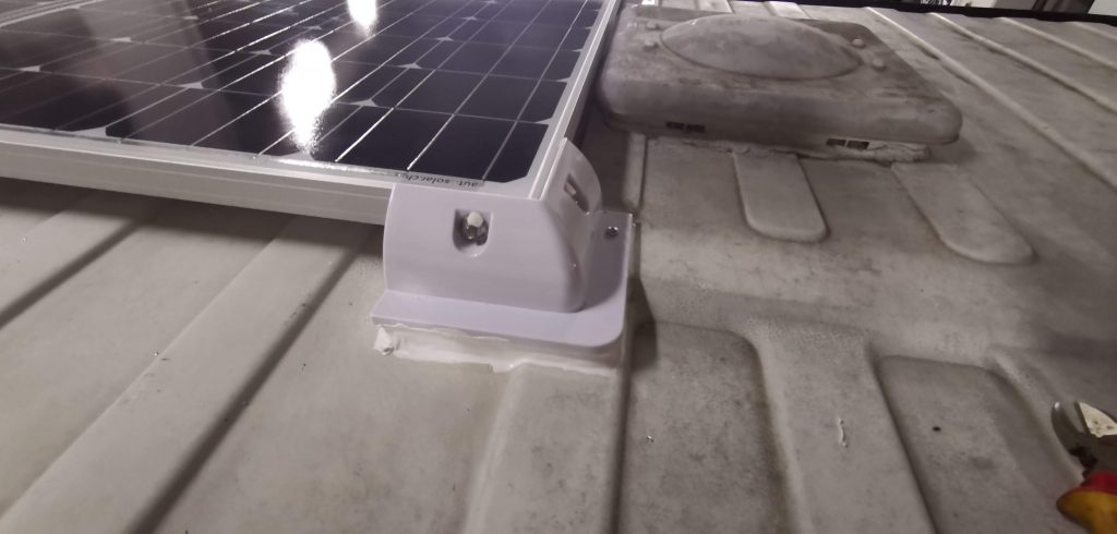 Solarmodul auf Ducatodach