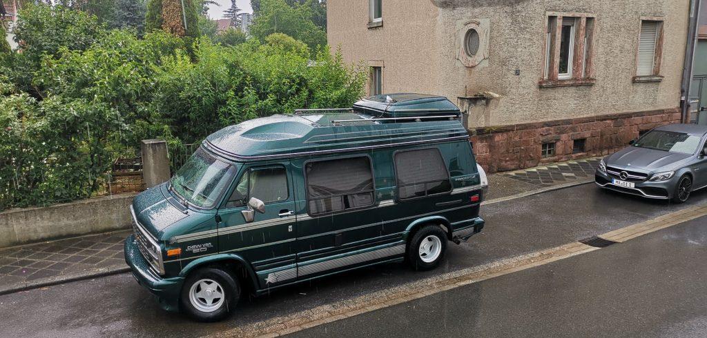 Chevy G20 ohne Solaranlage