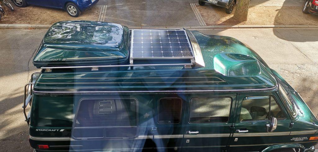 Chevy G20 mit 150 Watt Monokristallinen Solarmodul